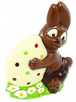 """Поликарбонатная форма """" Пасхальный кролик с яичком"""""""