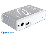 Адаптер Delock Converter Thunderbolt to SATA 6Gbps HDD/SSD Drive Adaptor Reader + Power Supply, фото 1