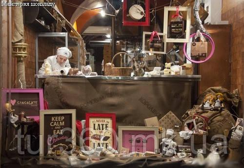 мастерская шоколада
