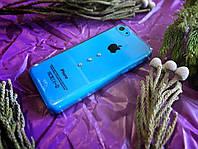 Пластиковый чехол с камнями Сваровски iPhone 5C