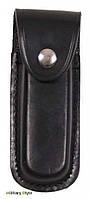 Чехол кожаный для ножа 11 см (Black)