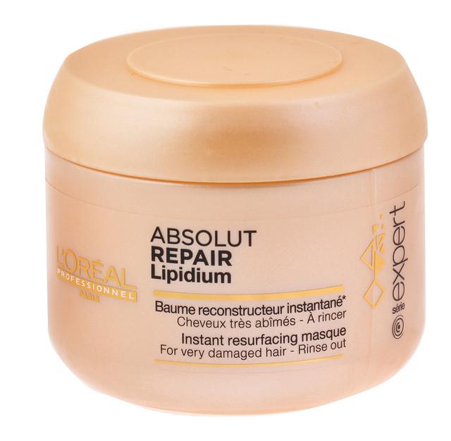"""Маска для восстановления поврежденных волос """"L`Oreal"""" Absolut Repair Lipidium  (200ml)"""