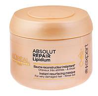 """Маска для восстановления поврежденных волос """"L`Oreal"""" Absolut Repair Lipidium  (200ml), фото 1"""