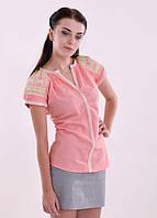 Рубашка-вышиванка из натуральной ткани