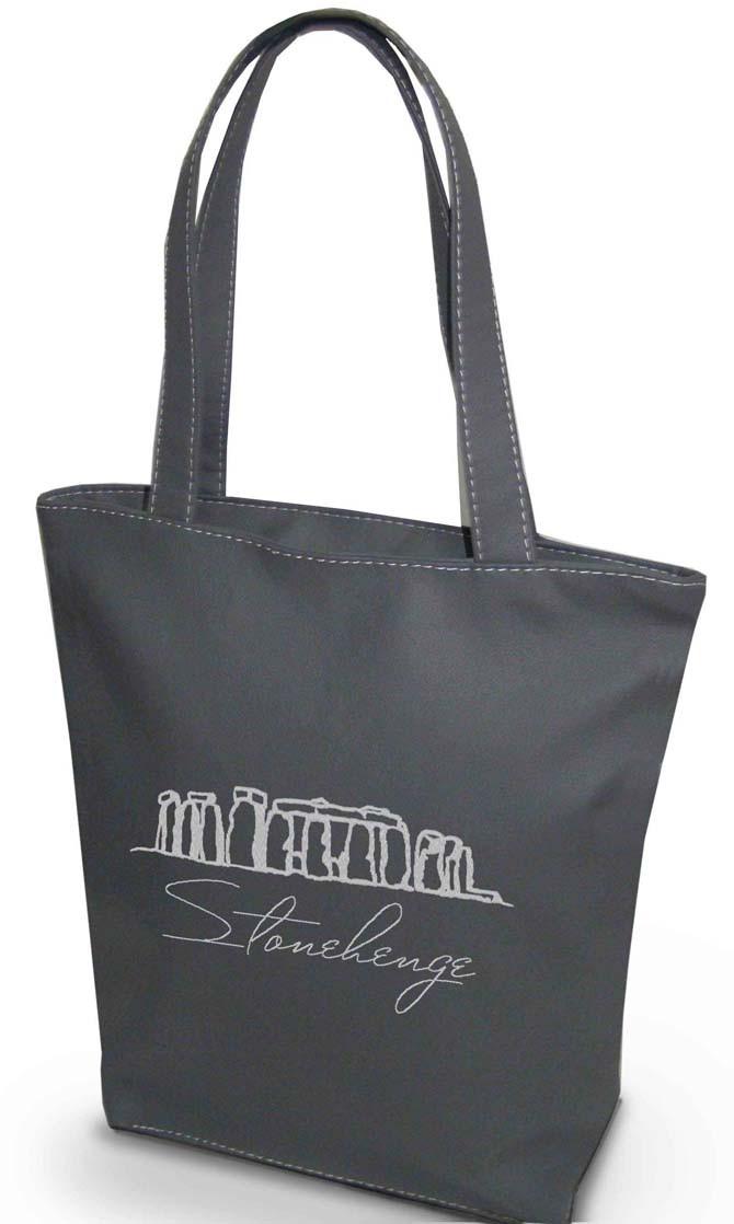 """Женская сумка """"Стоунхендж, Англия"""" Б65 цвет на выбор"""