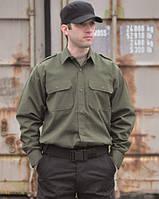 Рубашка с длинными рукавами Rip-Stop (Olive)