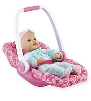 Интерактивная кукла-пупс  с переноской You and Me 16 inch Kicking Baby Doll Convertible Car Seat Set