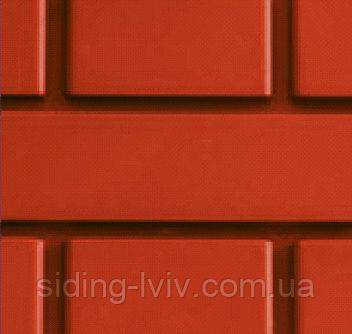 Сайдинг цокольный кирпич (сайдинг цокольний цегла)