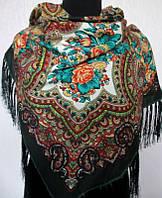 Шерстяной украинский платок Турция 12
