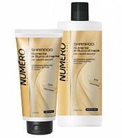BRELIL Numero Шампунь для волос питательный на основе масла карите 300мл