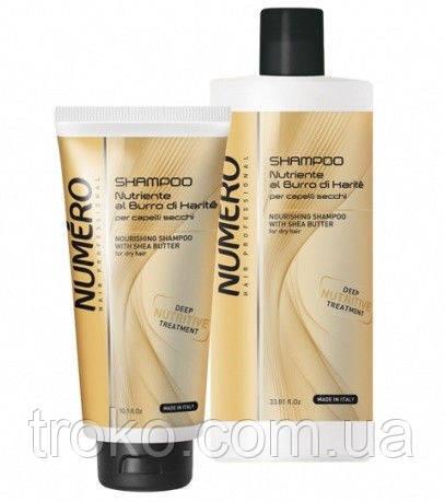 BRELIL Numero Шампунь для волос питательный на основе масла карите
