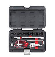 Набор спецключей для работы с поврежденными крепежами (гайки и шпильки) 20 пр. FORCE 920U3 , фото 1
