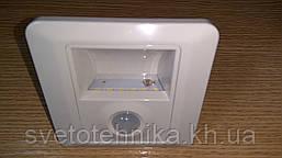 Фотореле (датчик освещения) встраиваемый со светодиодной подсветкой Horoz
