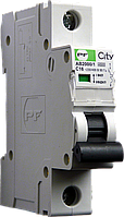 Автоматический выключатель City AB2000 1р С 63А 4,5кА Промфактор