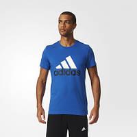 Футболка с логотипом Adidas Essentials Logo AK1798