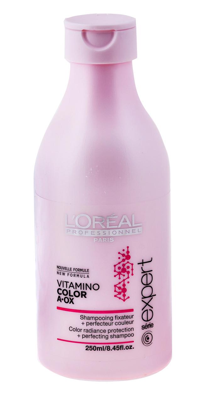"""Шампунь для окрашенных волос """"L`Oreal"""" Vitamino Color A-OX (250ml)"""