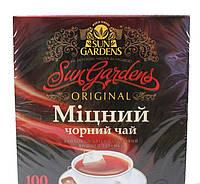 Чай черный Сан Гарденс Крепкий (Міцний) 100пак