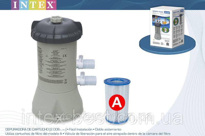 Intex 28604 (58604) - фильтр насос (2006 л/час)