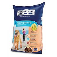 Корм для собак Клуб 4 Лапы с ягненком и рисом 12 кг
