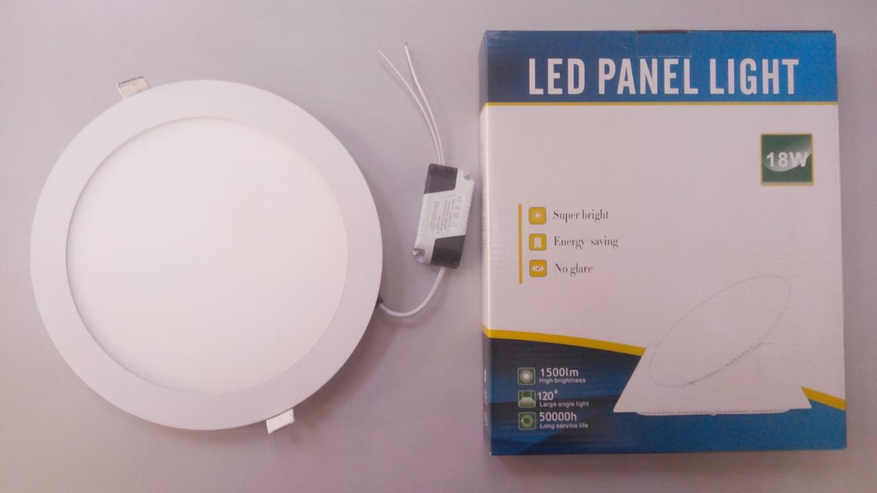 Светильник LED-R-225-18  4100К встраиваемый