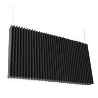 """Звукопоглощающая подвесная акустическая панель для потолка """"Island Baffles"""""""