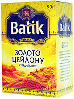 "Чай черный Батик ""Золото Цейлона"" 90г."