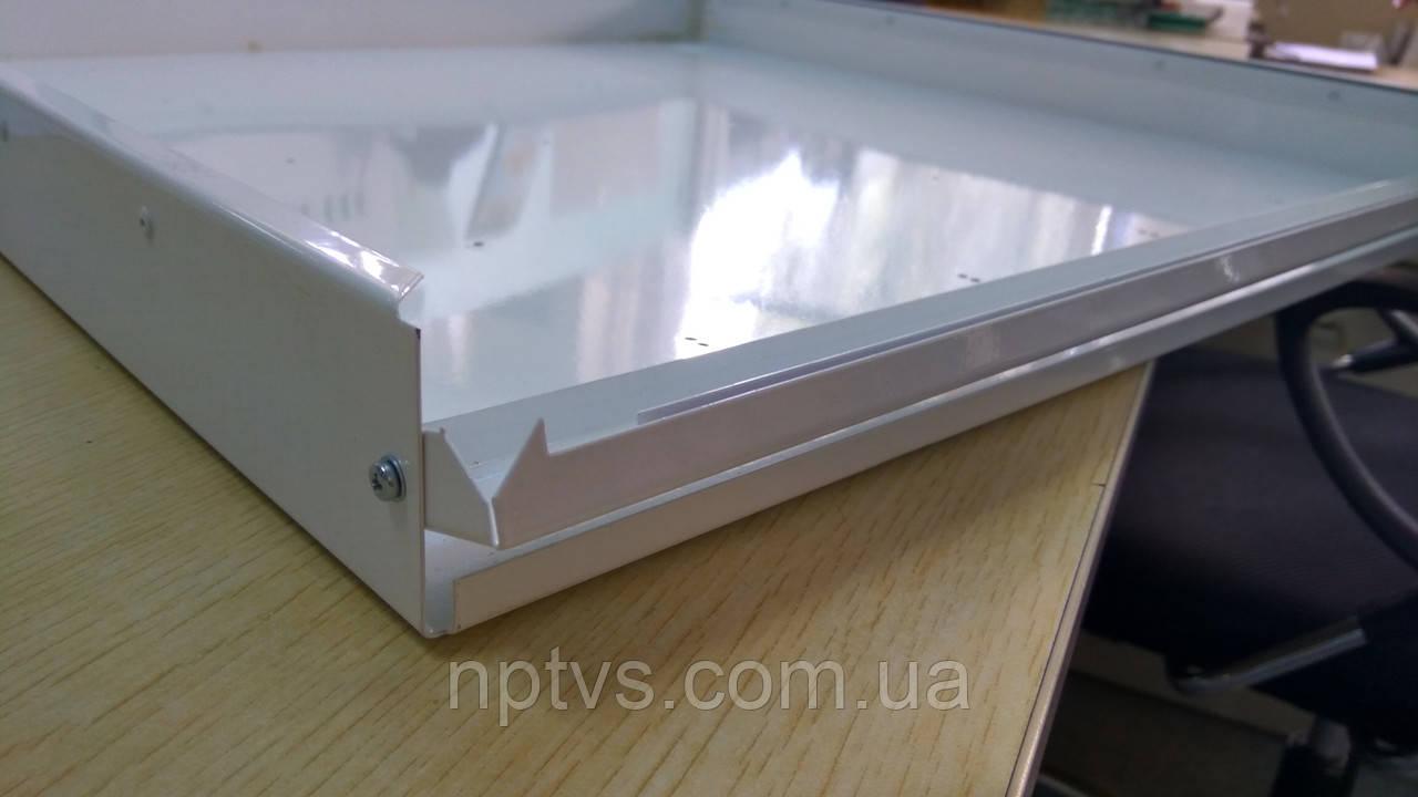 Корпус светодиодного светильника Армстронг (растровый светильник) 595*595 мм - ООО «Новейшие прозрачные технологии» в Киеве