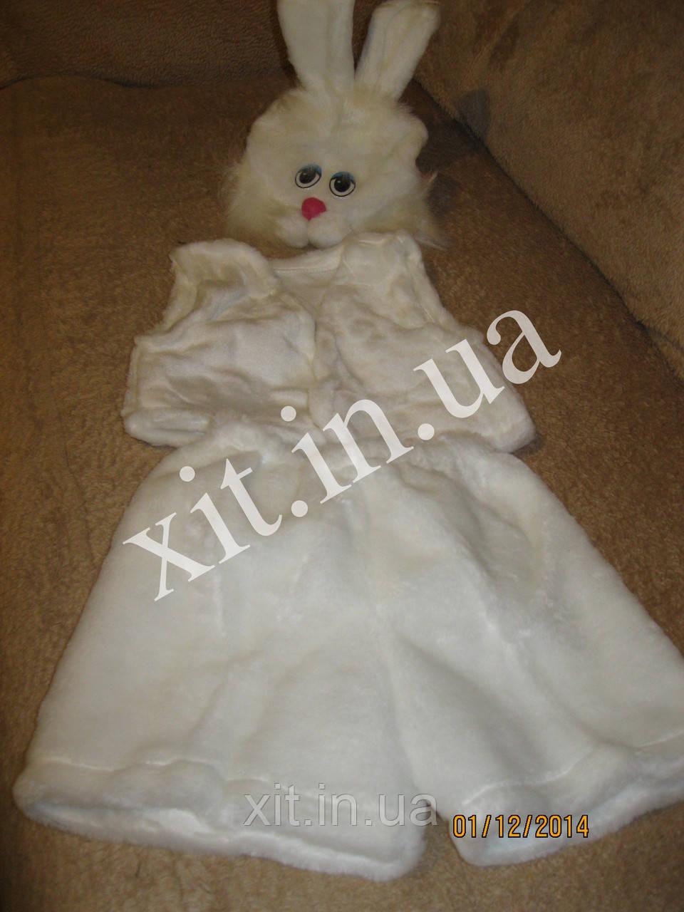 Детский костюм Зайца белый