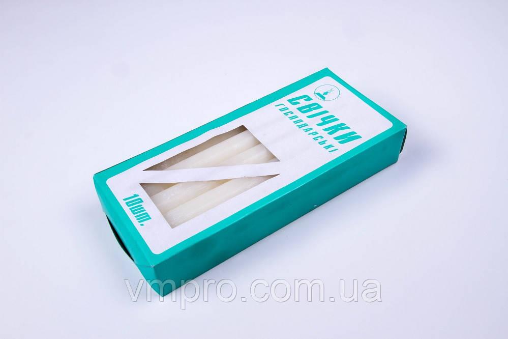 Свічки господарські 21 × 240, 12 годин, 10 шт/упаковка