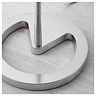 Светильник напольный IKEA NYFORS никелированный белый 903.031.06, фото 4