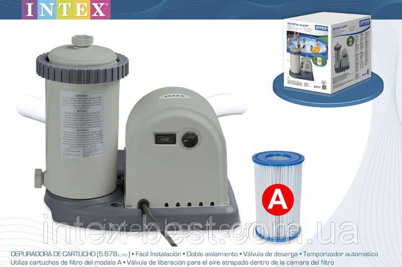 Насос-фильтр для бассейна Intex 28636 (56636) (5678 л/час)