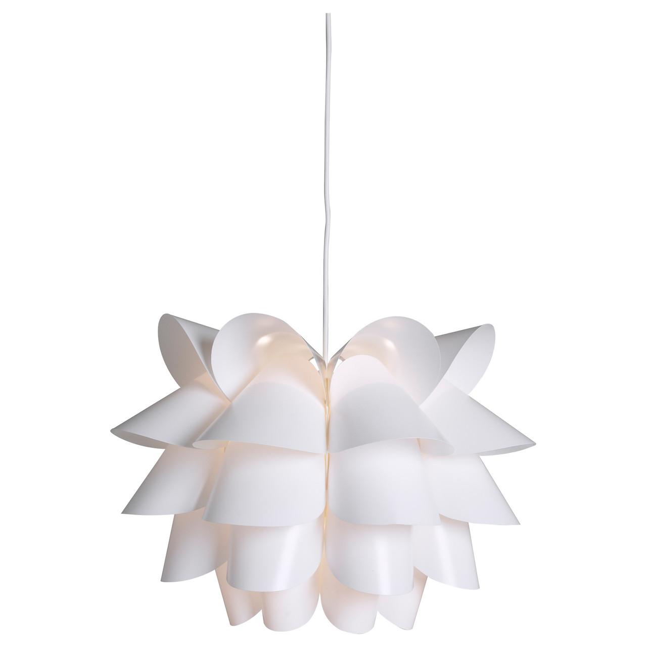 Подвесной светильник IKEA KNAPPA белый 500.706.51