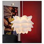 Подвесной светильник IKEA KNAPPA белый 500.706.51, фото 2