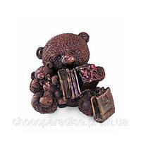 Шоколадные подарки на день рождение. Мишка с подарками