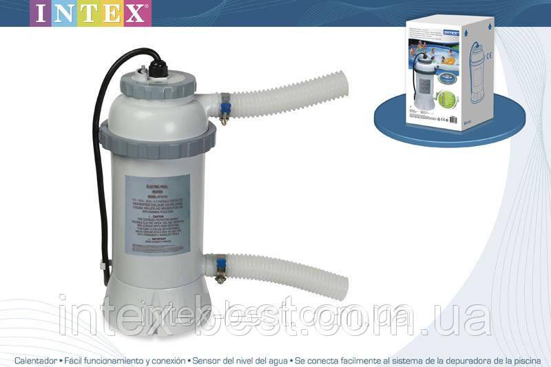 Проточный нагреватель воды для бассейна Intex 28684 (56684)