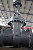 Задвижка стальная литая фланцевая 30с15нж Ду100 Ру40 с выдвижным шпинделем