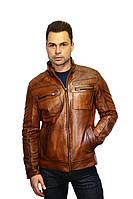 Кожаная куртка мужская, фото 1