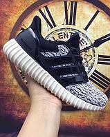 Мужские Кроссовки Adidas Ultra Boost Yeezy 350 (grey/black) - 20z
