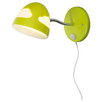 SKOJIG Лампа бра, зеленый