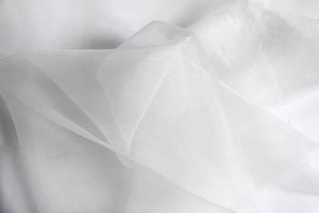 Готовая тюль-вуаль белая, фото 2