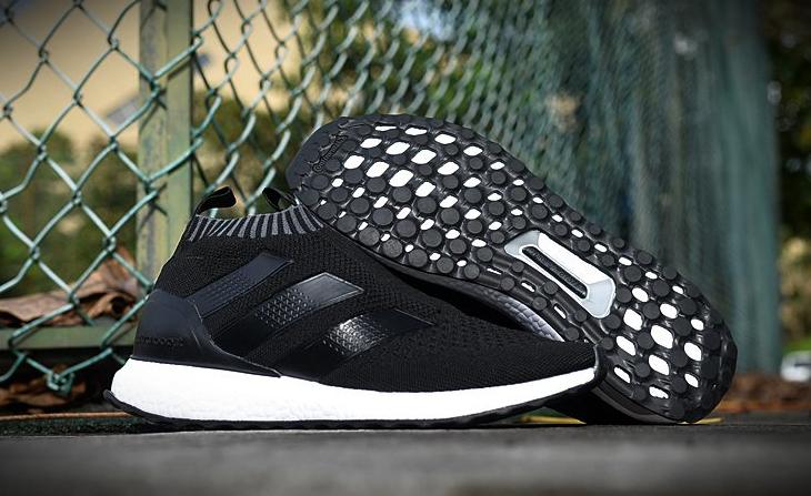 Мужские Кроссовки  Adidas Ultra Mid (black/white) - 25z