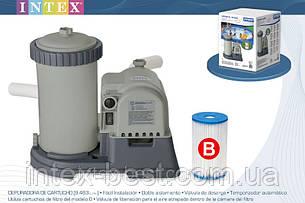 Насос-фильтр водный для бассейна Intex 28634 Производительность — 9460 л/ч., фото 2