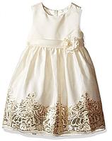 Шикарное нарядное платье с блёстками 2-10 лет
