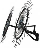 Грабли ворошилки-солнышко большие тракторные на 3 колеса 1,8м Премиум