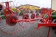 Грабли-ворошилки Солнышко 4-х колесные Agromech Польша