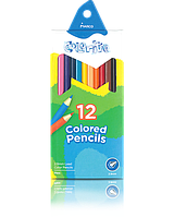 "1100-12CB Карандаши цветные ""MARCO"" Colorite NEW (12 цветов)"