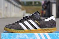 Кроссовки мужские Adidas Hamburg Suede (grey) - 14Z