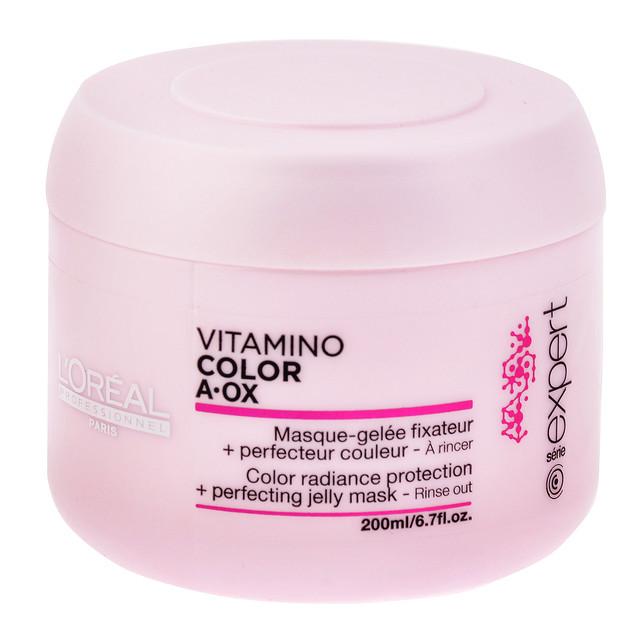 """Маска для окрашенных волос """"L`Oreal"""" Vitamino Color A-OX (200ml)"""