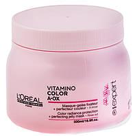 "Маска для окрашенных волос ""L`Oreal"" Vitamino Color A-OX (500ml), фото 1"