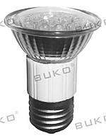 LED Лампа BUKO JDR E27 220V 18Leds белый